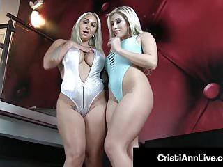 Cristy parks porn - Latina cristi ann nympho nina kayy tease us with big butts