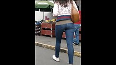 Asian Teen Bounce Butt