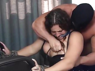 Mature big tit woman - Big tit woman dominated by muscle hunk