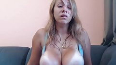 Big tit shaking orgasm