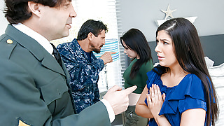 DaughterSwap - Military StepDads Love Swapping StepDaughters
