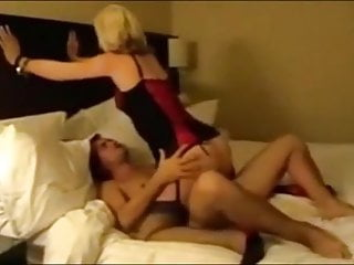 Men into womens lingerie - Hubby films his wife getting fucked by various men