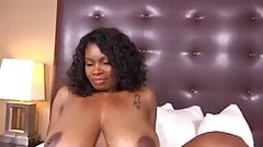 47 Year Old Black Milf Has Epic Natural Tits Part 1