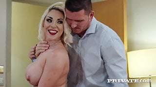 Private.com - Busty Victoria Summers Keeps Her Stockings On