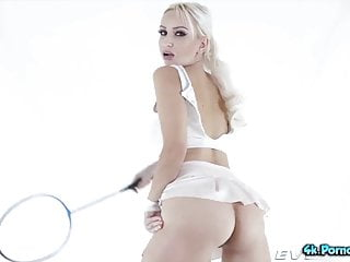 Tennis racket anal Dirty whore ksucolt loves buring her fist and tennis racket