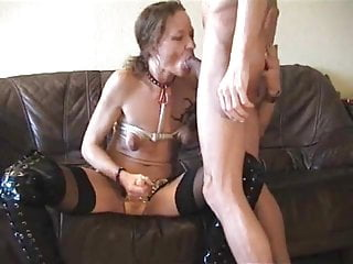 Anal couple kinky Kinky couple- wife strap-on fucks hubby