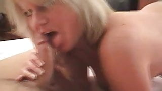 Dirty Talking Blonde MILF does A2M - POV