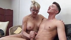 Taboo sex with mature mom