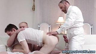 Raw dawging mormon bishop