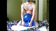 Big balloon fucking and cumming compilation