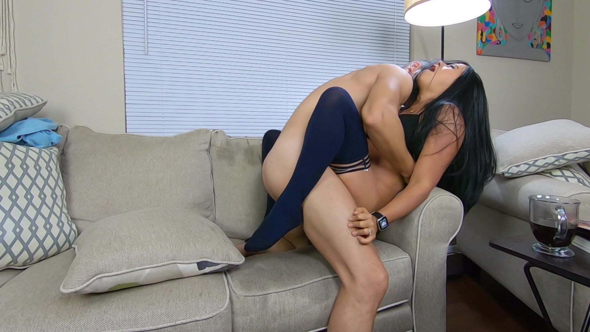 Amateur Seduce Porn amateur wife seduces husband on the couch