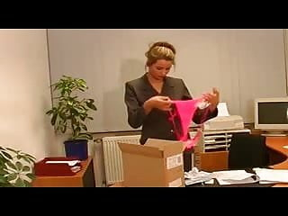 Xhamster pantyhose indulgence - German secretary indulges her bosses pantyhose sex