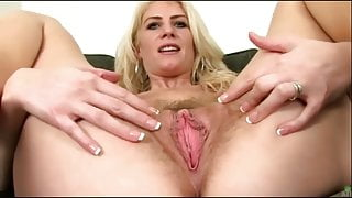 Gaping Hairy Cunts #1