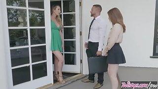 StepMom Knows Best - Brett Rossi , Danni Rivers - Door to Door