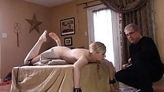 Amelia Rutherford caned and shamed
