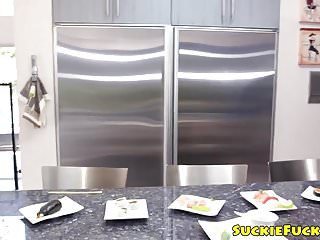 Big bowl asian kitchen durham - Asian babe pussy fucked by bbc in the kitchen