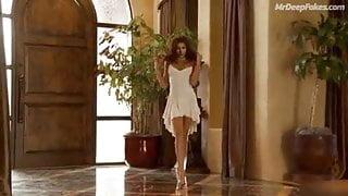 Indian actress Deepika Padukone shows boobs dancing