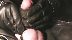The Leather Domina - Leather Bondage - Cock and Ball Torture