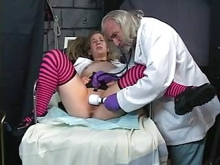 Electronic shock kinky sex toys - Chick with wild pigtails gets kinky sex therapy