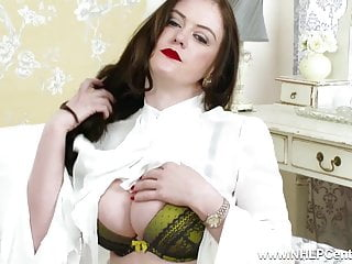 Boobs natural small - Big boobs natural brunette masturbates in retro nylons heels