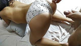 Teen with a big booty fucked doggystyle