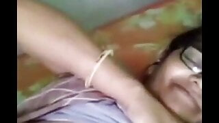 Indian Granny Showing Her Boobies & Pussy in Panties