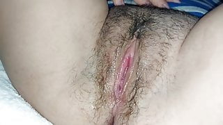 Sister's Delicious Hairy Pussy
