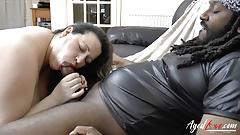 AgedLovE Interracial Mature Hardcore and Blowjob