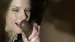 wife,  bbc cumslut swallowing bbc load