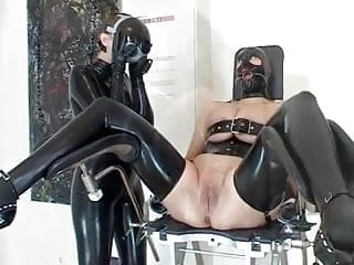 Asian lesbian shaved Shaving lesbians - with latex and bdsm