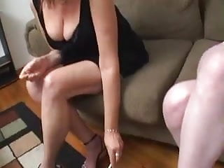 Mature fucked by young - Old chubby mature fucked by young girl