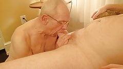 Grandpa Slow Blowjob