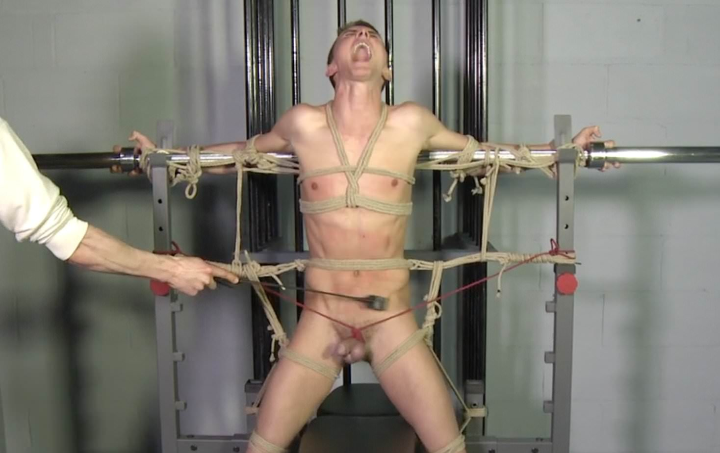 Lesbian full body massage video