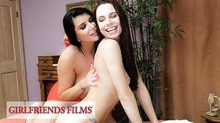 GirlfriendsFilms - Romi Rain Gives In To Aidra's Temptation