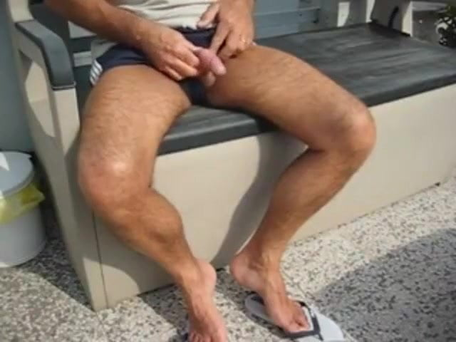Mann Zeigt Penis