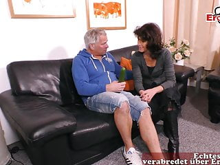 Old mature bestiality fucking German old mature housewife fuck with cucumber a saggy tits