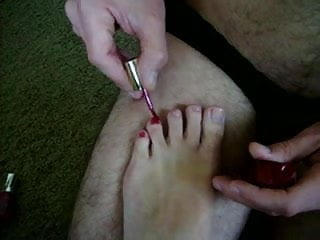 Bdsm reading and paints Paint my toes, whore