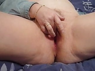 My wifes hairy ass Fingering my wifes hairy pussy