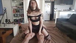 Very sissy Mature prostitute fucked bareback