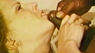 Duel In The Desert - Lily Rodgers gets fucked by 2 BBC's