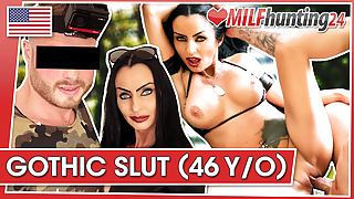 MILF Hunter dicks down Milf Sidney Dark! milfhunting24.com