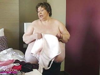 Karola bbw Unreal zz cup tits granny karola