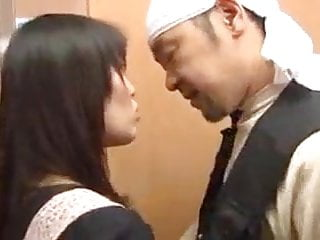 Forced to cum - Japanese wife cheating or forced