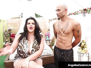 Supreme castro gets fuck - Cuban dicktaster angelina castro gets iced down to her pussy
