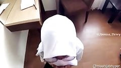 Indonesian Hijab Horny Looking for cock