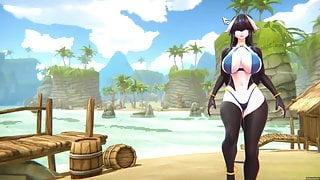 Monster Girl World v 0.1b - 3D hentai game