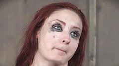 Redhead BDSM gangbang - Violet Monroe