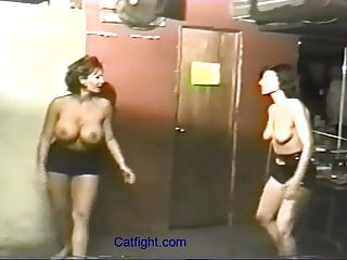 Blake mitchel nude Catfight busty blake mitchell in real catfight action
