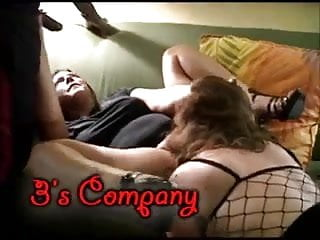 Sexy bbw tits Amazing threesome with two sexy bbw moms and lucky bbc