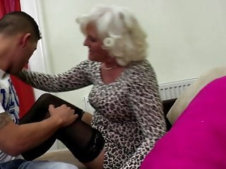 Young boy with grandma sex - Grandma go hard with young pervert boy